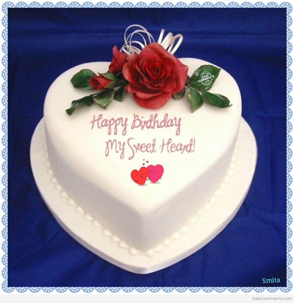 24 Cute Sweetheart Birthday Wishes, Greeting, Image ...