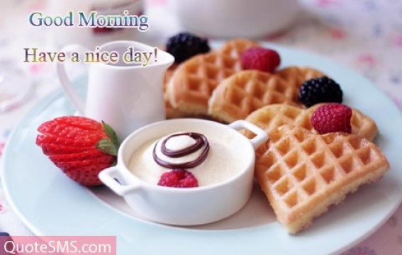 Delicious Morning Wishes Image