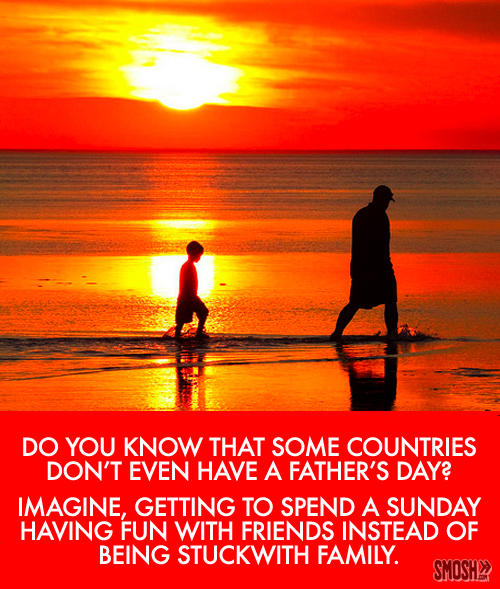 Do You know That Some Countries Happy Father's Day Image