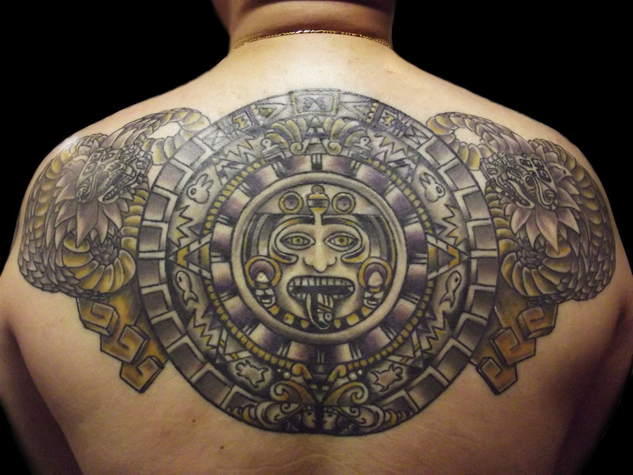 45 Mysterious Aztec Tattoo Ideas Designs Photos Pictures Picsmine