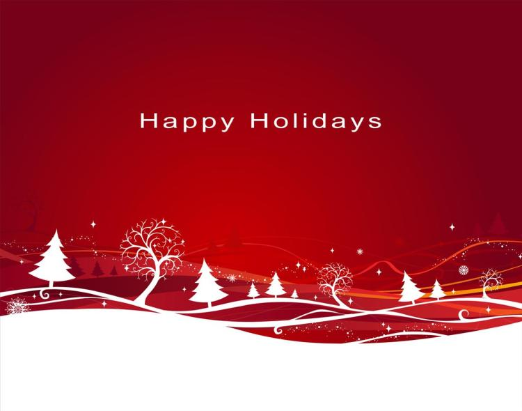 Fabulous Happy Holiday Wishes Wallpaper