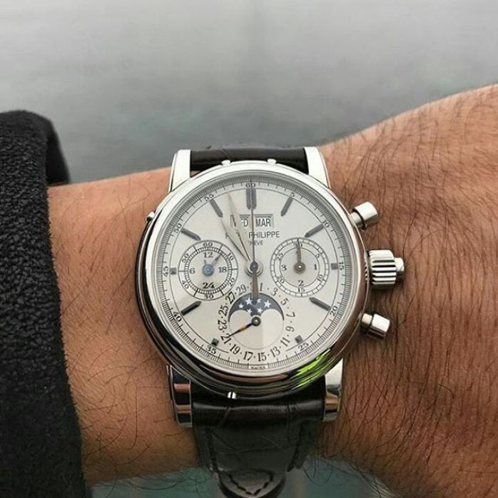 Fabulous Patek Philippe Watch With Three Dial For Men