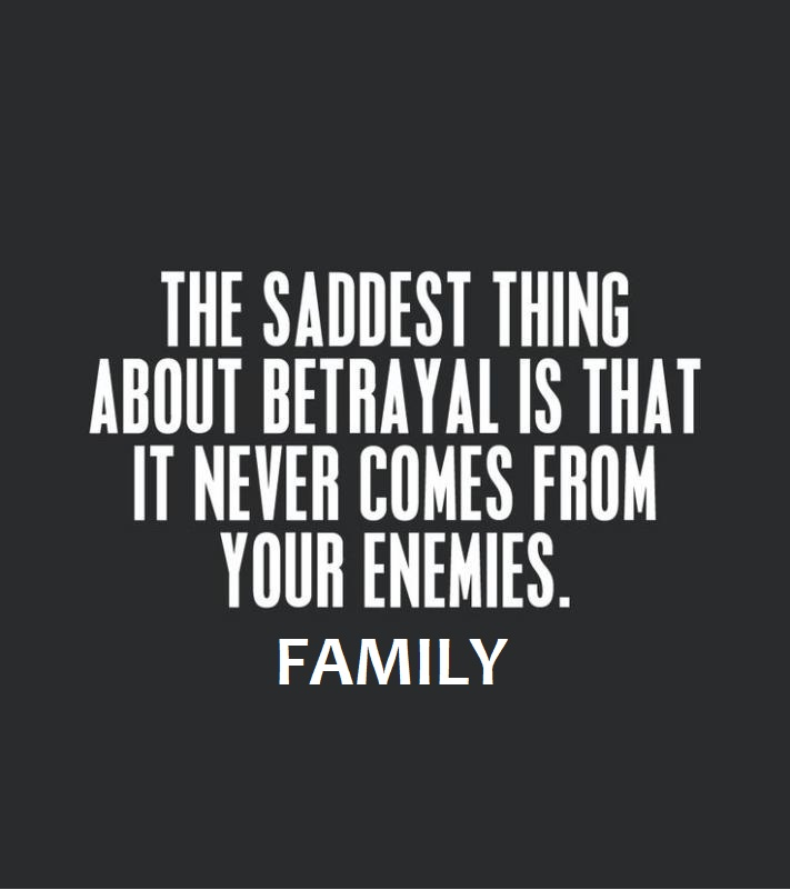 Betrayal Tattoo Quotes Quotesgram: 23 Most Famous Fake Family Quotes, Sayings And Quotations