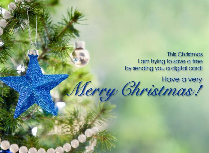 Famous Merry Christmas Wishing Wallpaper