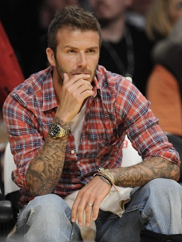 David Beckham Tattoo014