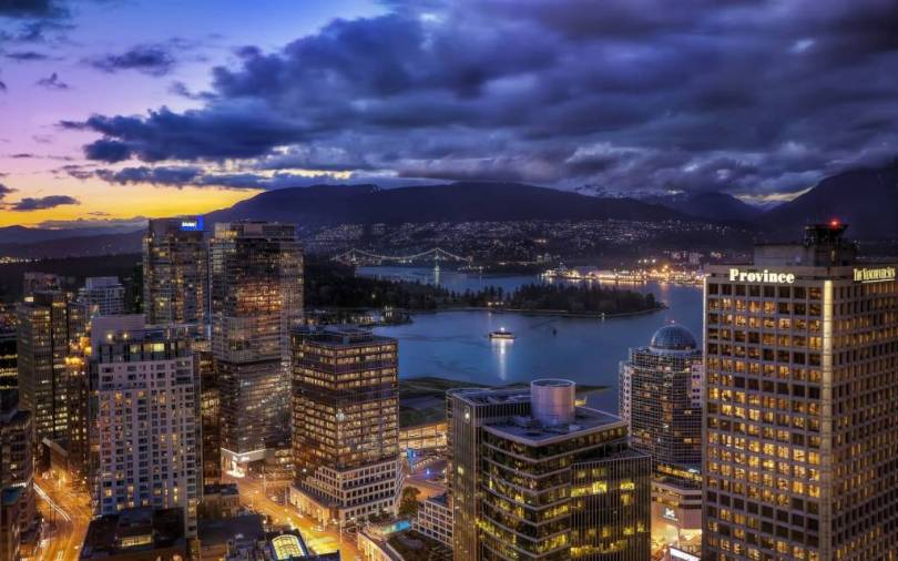Fantastic Vancouver City Full HD Wallpaper