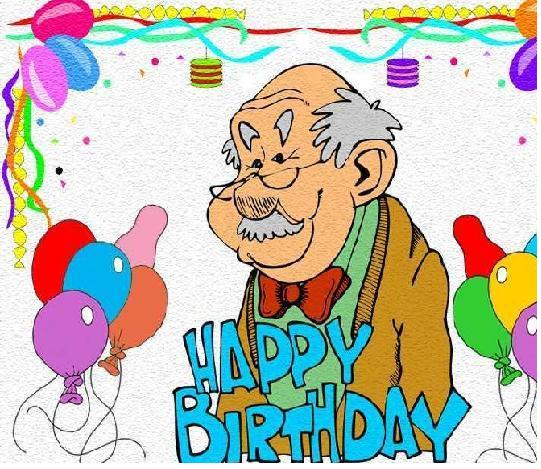 For Best Grandpa Happy Birthday Wishes Image