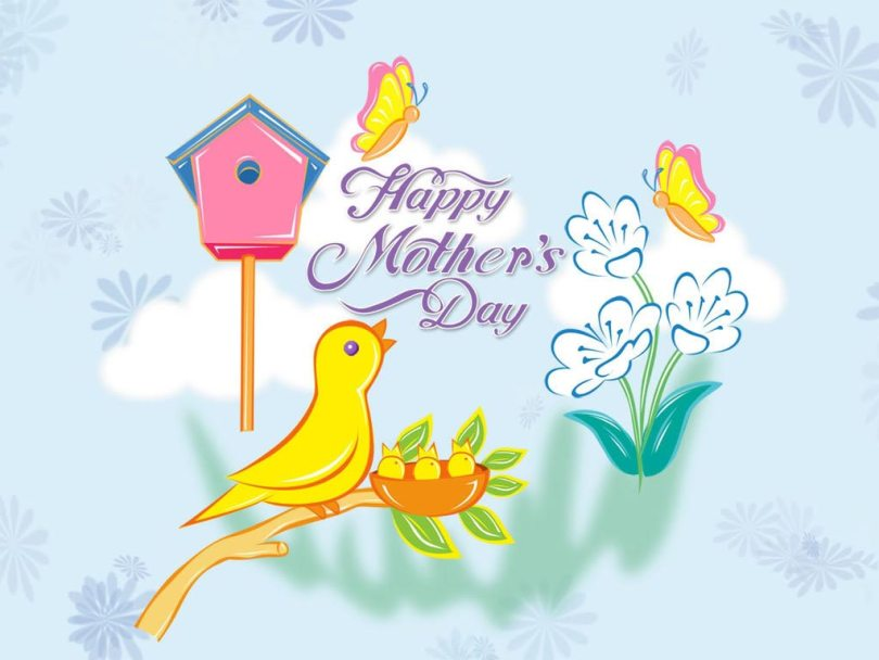 For My Best Mom Happy Mothers Day Wishes Image