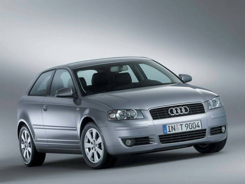 Front Awesome Audi A3 car