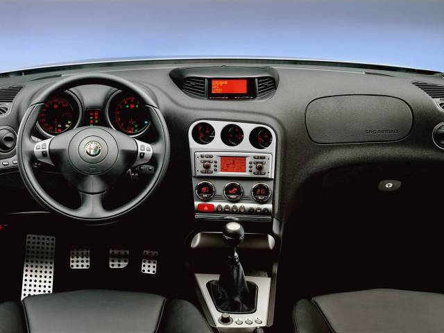 Front inside of Alfa Romeo 156 GTA Car