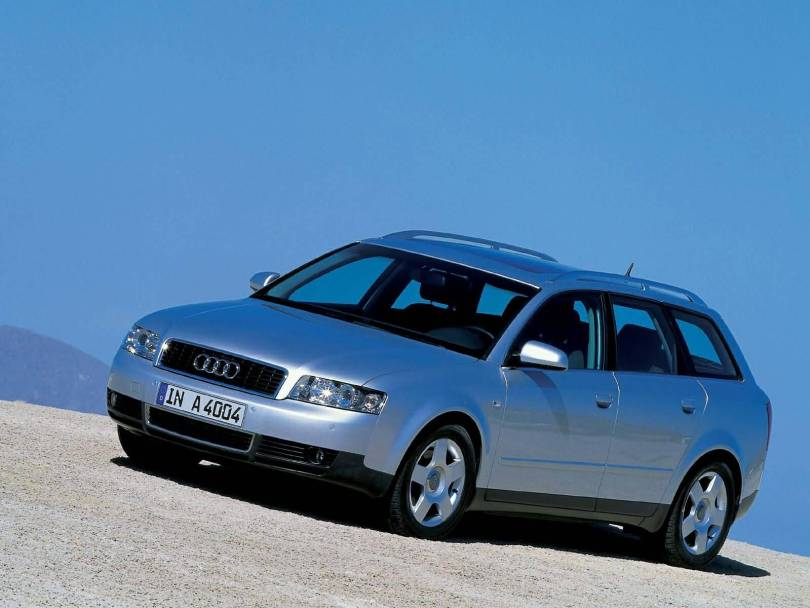Front side view of beautiful Audi A4 Avant Car