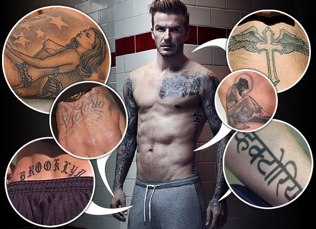 David Beckham Tattoo025