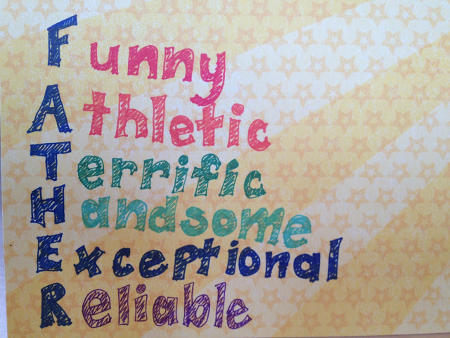 Funny Athletic Terrific Handsome Happy Father's Day Image