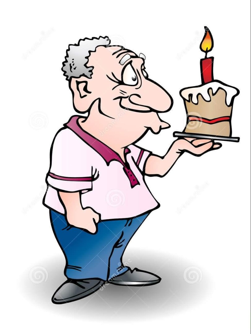 Funny Grandpa Happy Birthday Wishes Image