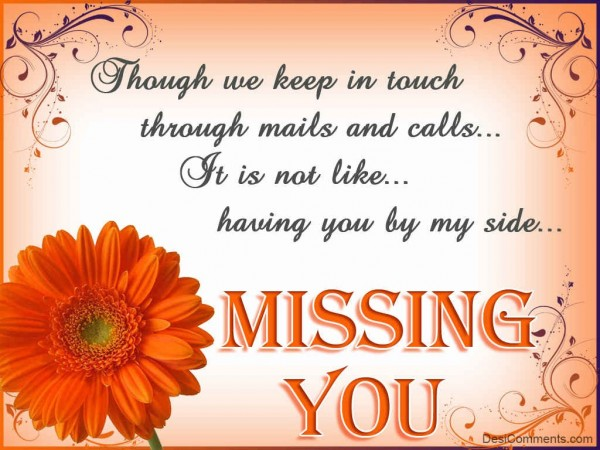 Girlfriend Missing You Quotes Image