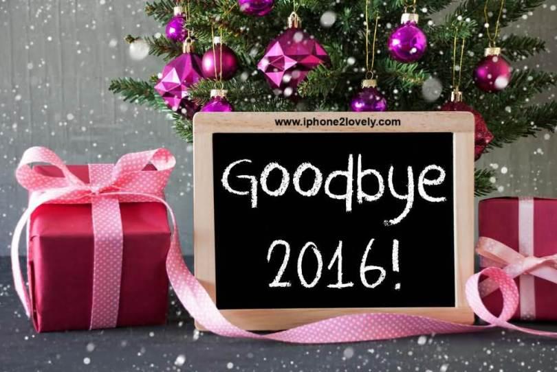 Good Bye 2016 Happy New Year 2017 Wishes