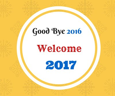 Good Bye 2016 Welcome 2017 Wishes Image