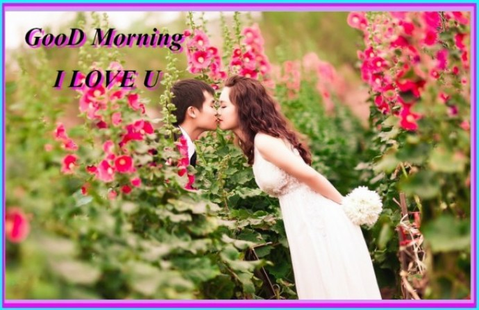 Good Morning Wishes To Dear Girlfriend Image