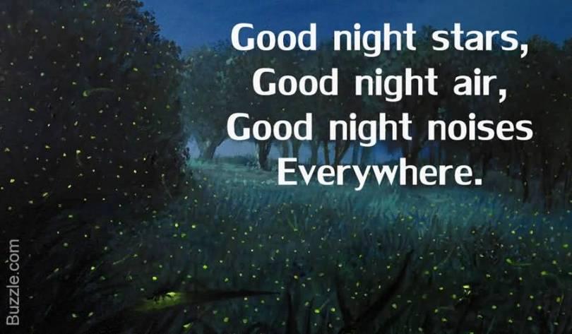 Goodnight Moon Quotes Good night stars good night air good night noises everywhere