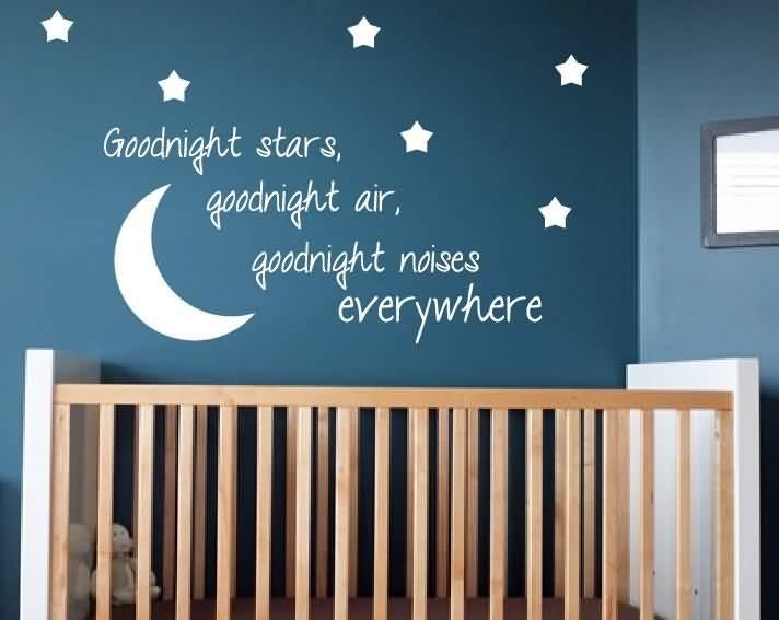 Goodnight Moon Quotes Goodnight stars goodnight air goodnight noises