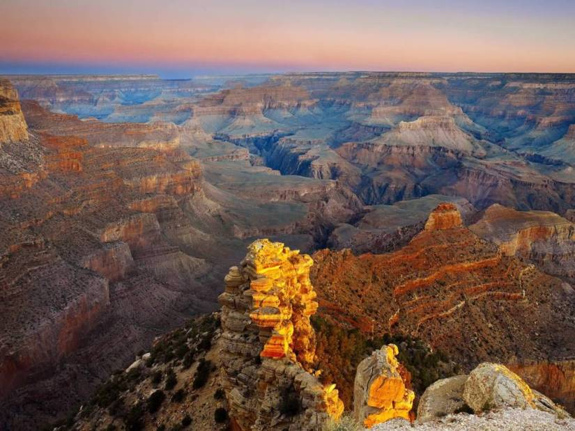 Great Grand Canyon National Park Arizona 4K Wallpaper