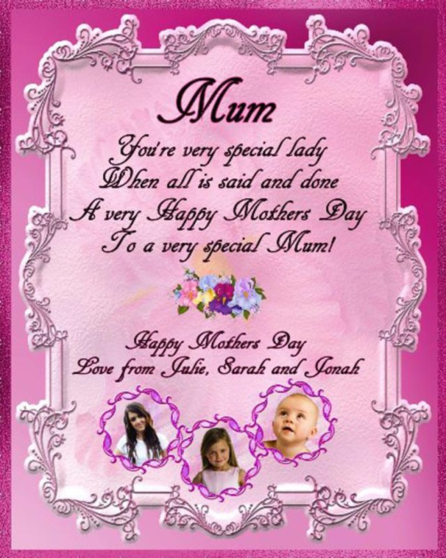 Great Happy Mothers Day Wishes Card Image