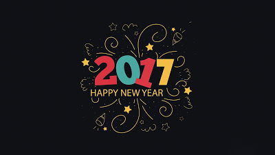 Great Wishes Happy New Year 2017 Wallpaper