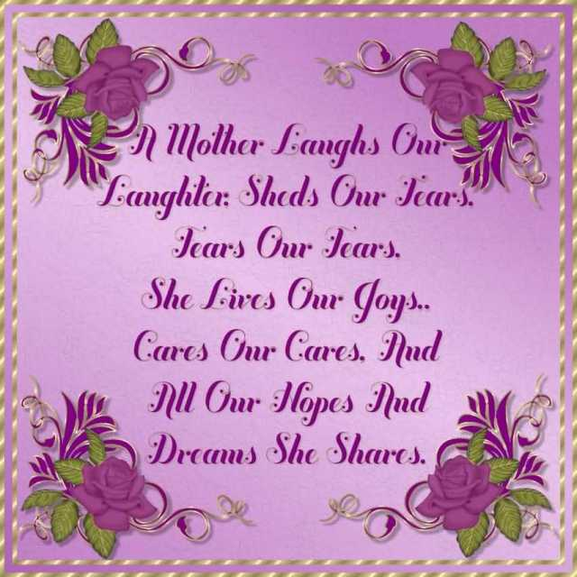 Greeting Message Happy Mothers Day Wishes Image