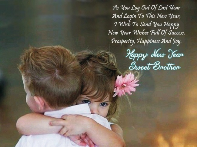 Happiness And Joy Happy New Year Sweetbrother