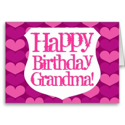 Happy Birthday Grandma Greeting Card Picture