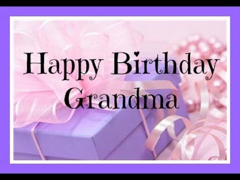 Happy Birthday Grandma Greeting Picture