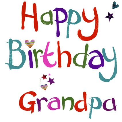 Happy Birthday Grandpa Greetings Message Image