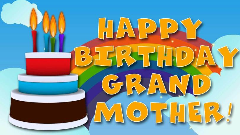 Happy Birthday Great Grand Mother Greeting Image