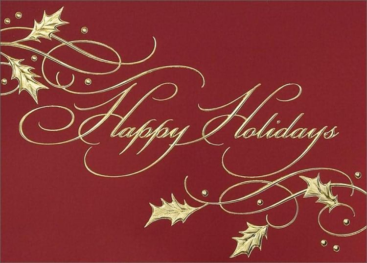 Happy Holiday Greetings To Friend Wishes Image