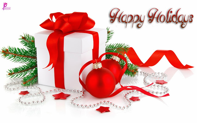 Happy Holiday Wishes For Friend Image