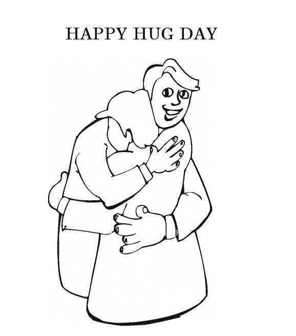 Happy Hug Day Card Image