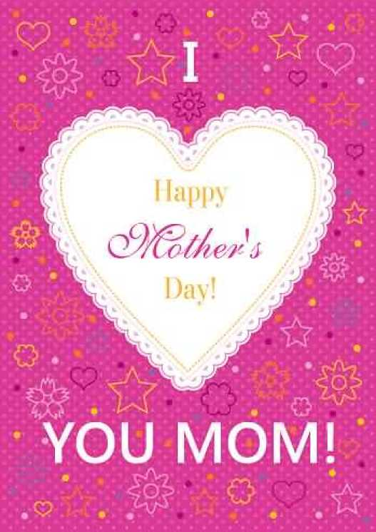Happy Mothers Day Lovely Card Wishes Image