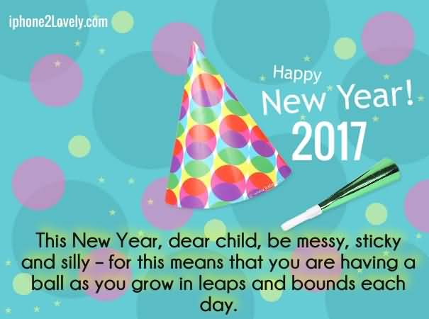 Happy New Year 2017 Greetings Message