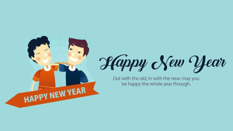 Happy New Year Friends Have A Great Year Ahead Wishes Image