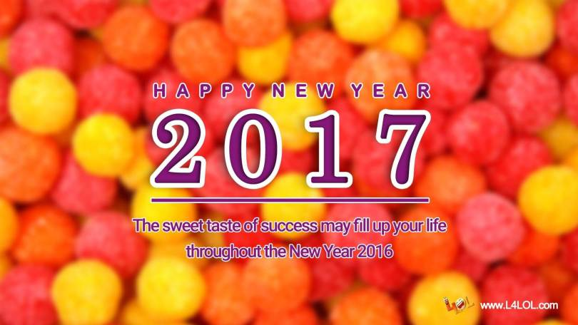 Happy New Year Sweet Message Image