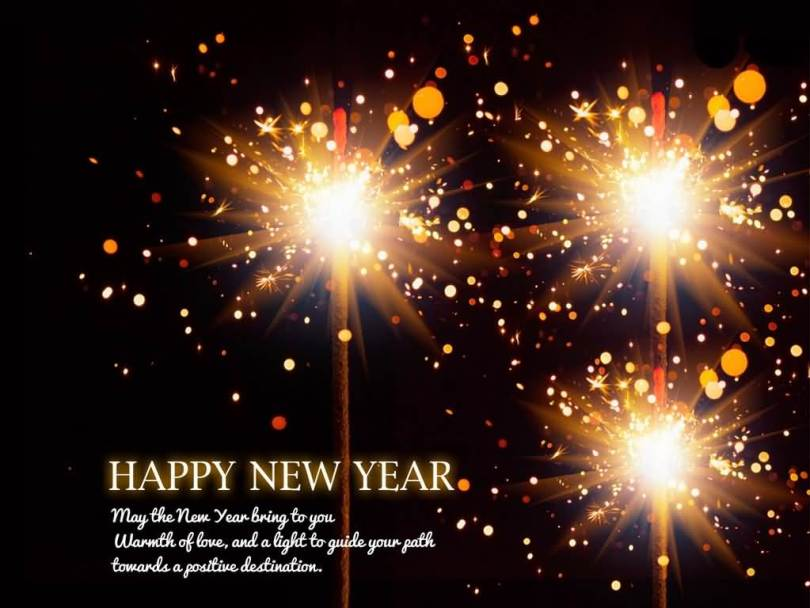 Happy New Year Warmth Of Love Wishes Image