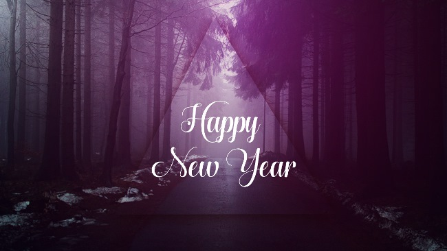 Happy New Year Wishes Awesome Wallpaper