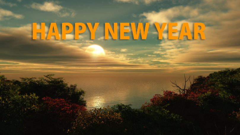 Happy New Year Wishes For Lover Image