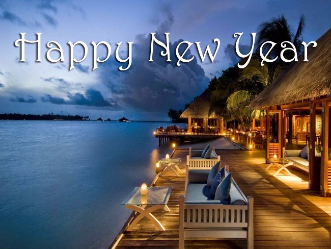 Happy New Year Wishes Lovely Wallpaper