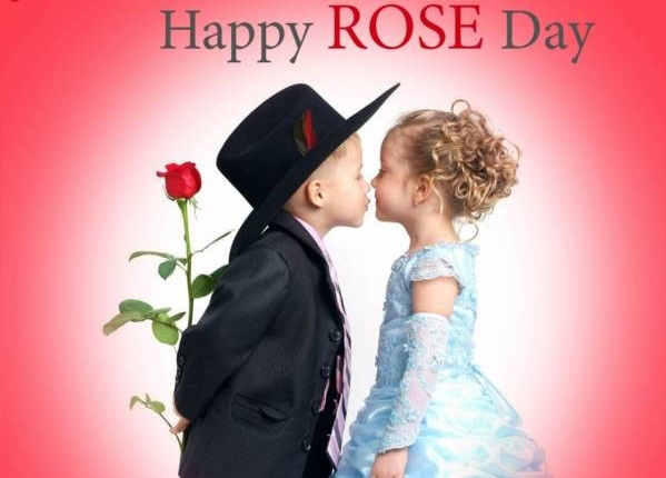 Happy Rose Day Kiss Image