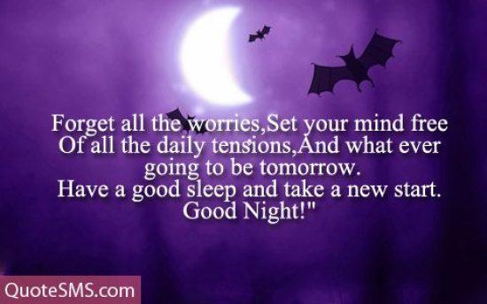 Have A Good Sleep Good Night