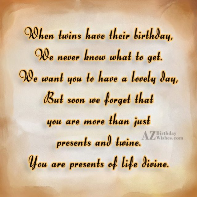 Have A Lovely Day Happy Birthday Both
