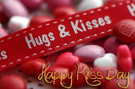 Hugs & Kisses Happy Kiss Day