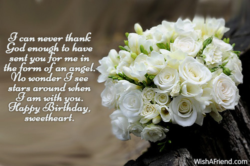 I Am With You Happy Birthday Sweetheart Birthday Wishes Quotes Image