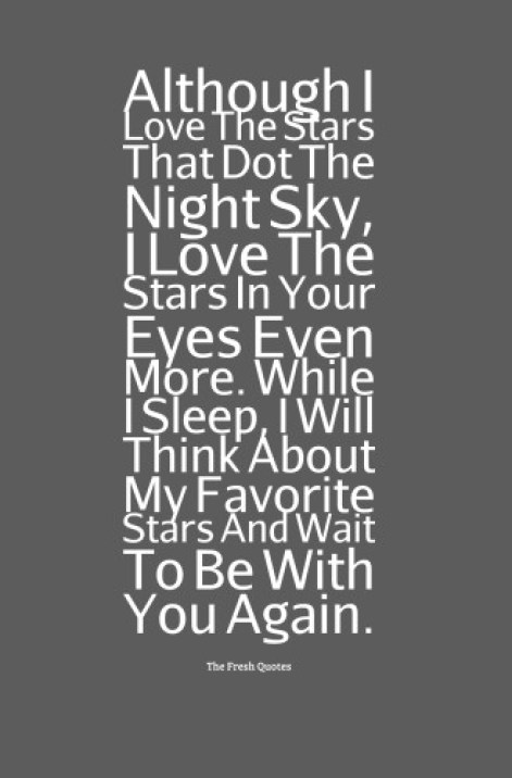 I Love Good Night Message Image
